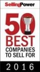 Selling Power 50 Best Companies to Sell For