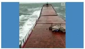 ship break in middle